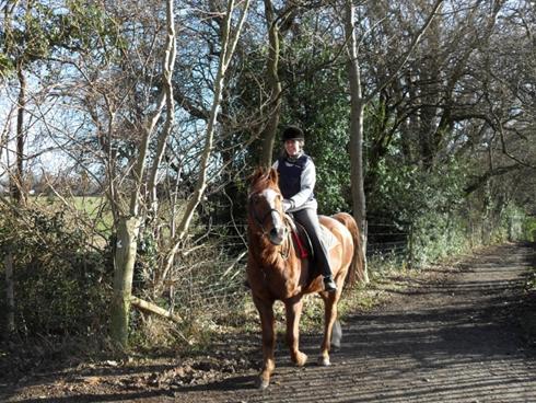 Karen-Carpenter-riding- horse