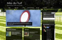 Miss du Turf - Equestrian website design by Toolkit Websites, Southampton