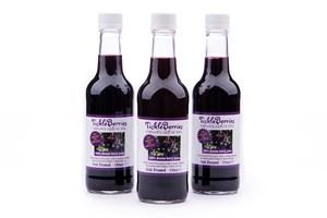 TickleBerries 330ml bottles of 100% ARONIA JUICE