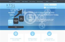 KTSL - IT website design by Toolkit Websites, Southampton
