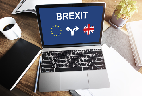 Opened-laptop-with-Brexit-displayed