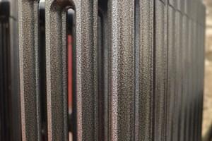 Refurbishing radiators in Antique Silver