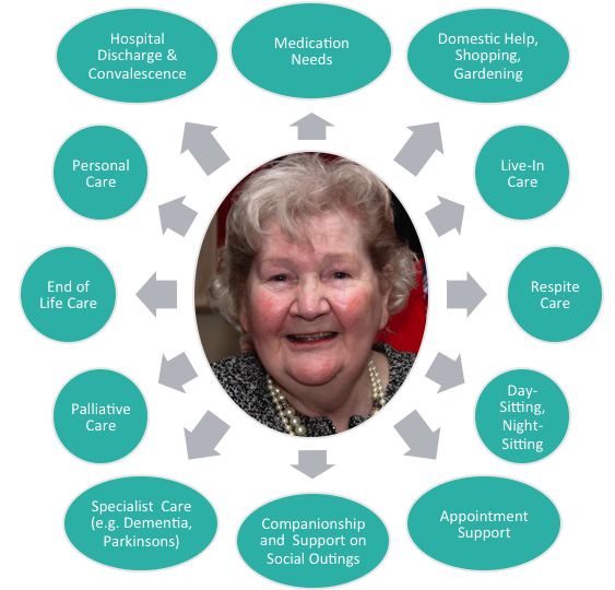 Diagram of our Care Services