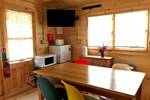 Kitchen area in Kingfisher