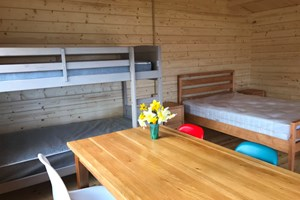 Inside our new 4 berth cabins