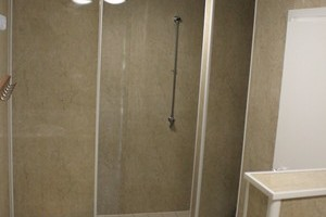 our new family shower rooms--made for sharing!