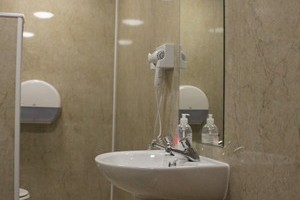 Our new family shower rooms