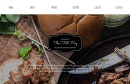 Roast Events - Catering website design by Toolkit Websites, Southampton