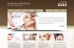 Dr Bruno Amendola - Surgical website design by Toolkit Websites, Southampton