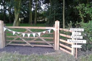 Gateway to the woodland