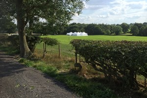 Premier Events Marquee at Mapperley Farm's 'Woodside'