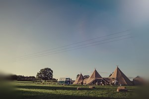 Tipi at 'Woodside'