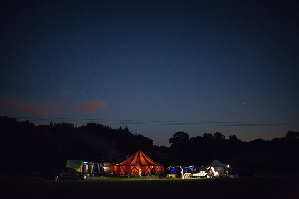 Big Top Marquee at 'Woodside'