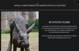 Farquharson Duffy Sculpture - Sculptors website design by Toolkit Websites, Southampton