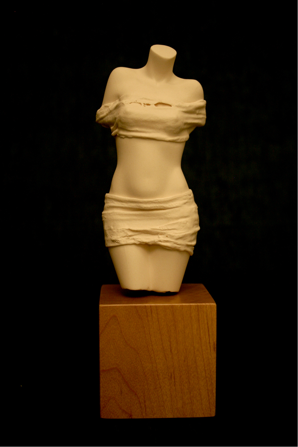 Aphrodite £155 Porcelain. Dimensions: 230mm x 70mm x 70mm Signed edition. In stock