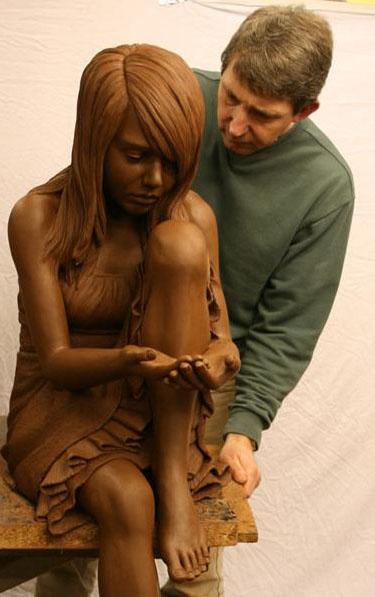 Martin Duffy female sculpture