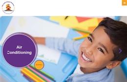 The Little School daycare web design