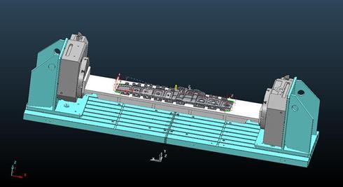 Powermill CNC Programming 5 Axis Rib