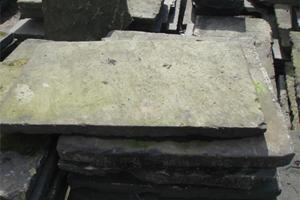 This is a fine example of the standard of York stone slabs we supply
