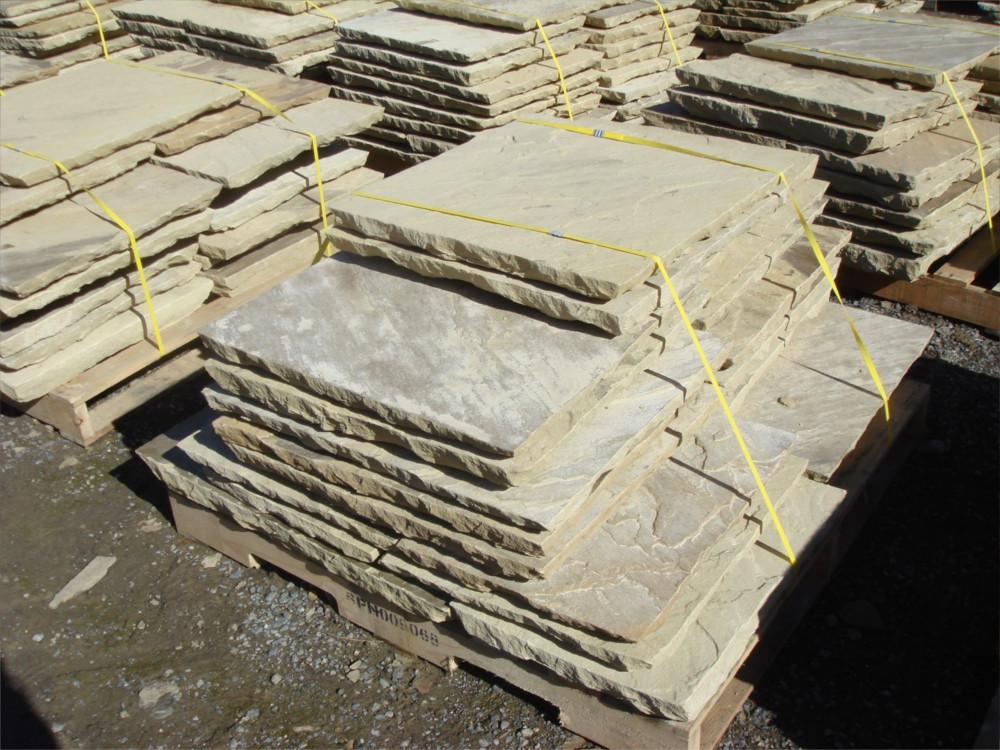 New riven hand fettled York stone