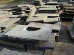 Reclaimed yorkstone paving in stock