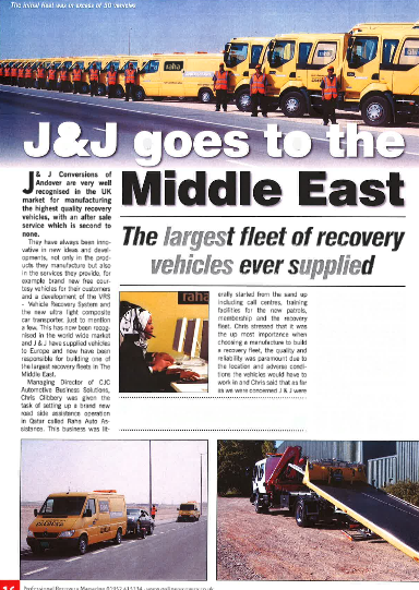J&J goes to the Middle East