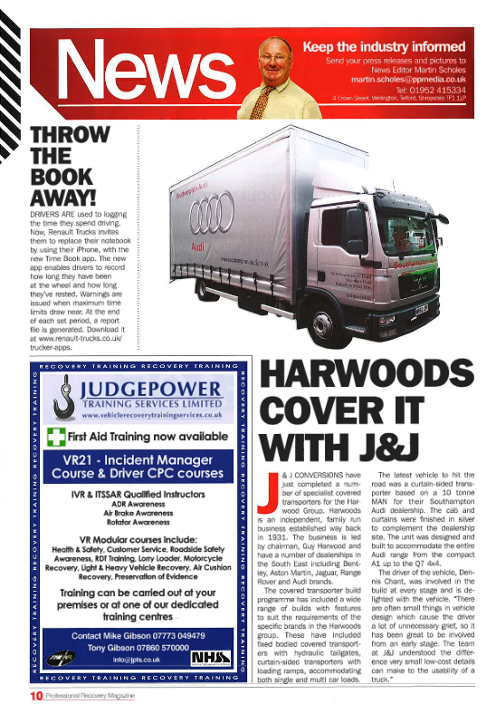 Harwoods Have It Covered
