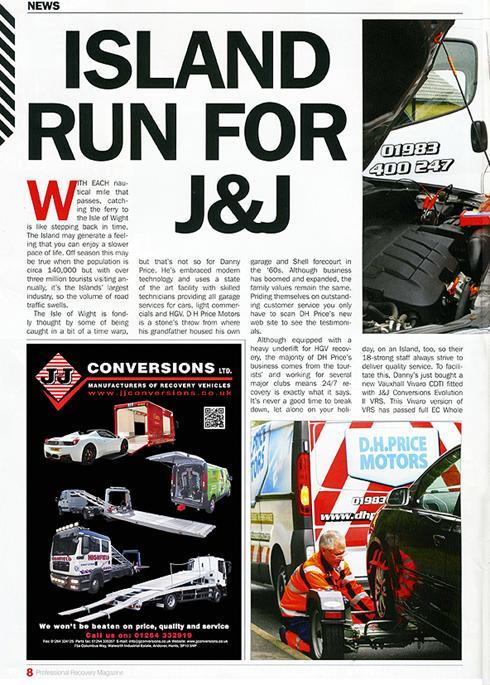 Island run for J&J