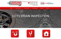 Jet Stream - Cleaning website design by Toolkit Websites, professional web designers