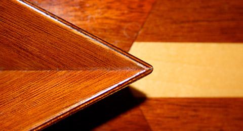 Custom peak and deck detail
