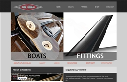 Carl Douglas - Marine website design by Toolkit Websites, professional web designers