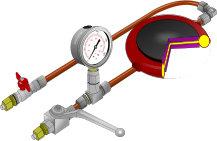 hydraulic jacking & monitoring equipment