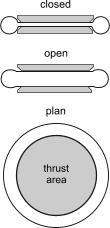 side elevation diagram