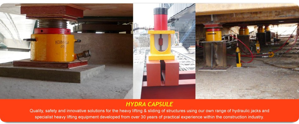 Building And Bridge Jacking Equipment Structure Lifting
