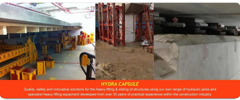 Building and Bridge Jacking Equipment, Structure Lifting