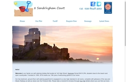 8 Sandringham Court - bed and breakfast website design by Toolkit Websites, Southampton
