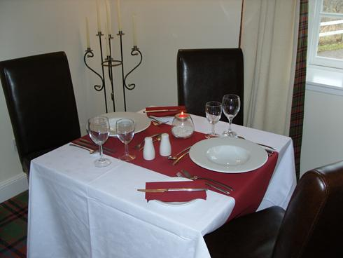 Our dining tables