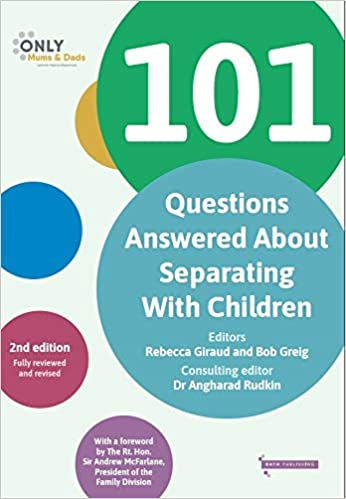 101 Questions Answered About Separating With Children Book Cover
