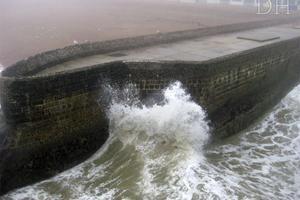 Brighton stormy