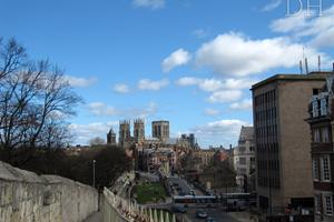 York Minster, from the Town Wall