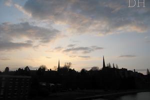 Shrewsbury's stunning skyline