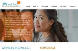 JW Training - Coaching website design by Toolkit Websites, Southampton