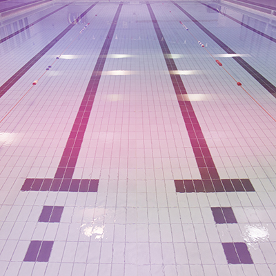 swimming pool in East Ham leisure centre