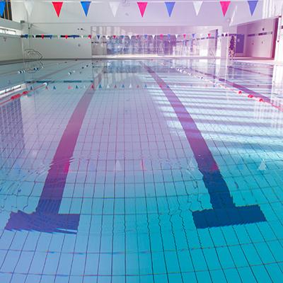 Swimming pool for aqua fit