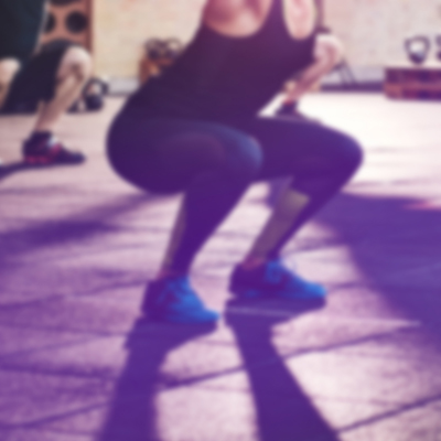 Ladies exercising in bootcamp class