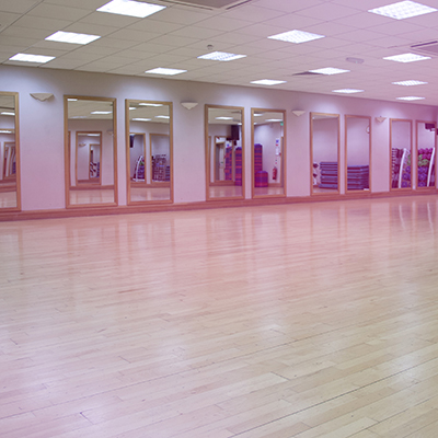 Ladies exercising in body conditioning class