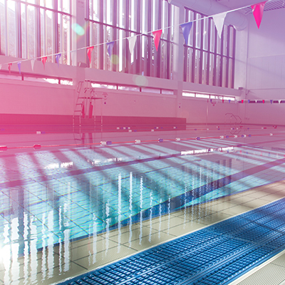 Atherton leisure centre swimming pool for lessons