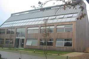 Bedales School, Petersfield, Hants - Uginox (Stainless steel) standing seam roofing - R Durtnell & Sons - £85,000