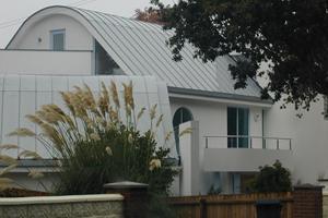 Brudenell Rd, Sandbanks - Rheinzink standing seam roofing - £25,000