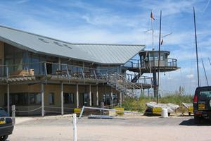 Hayling Island Sailing Club - Rheinzink standing seam roofing - TSL Construction - £230,000